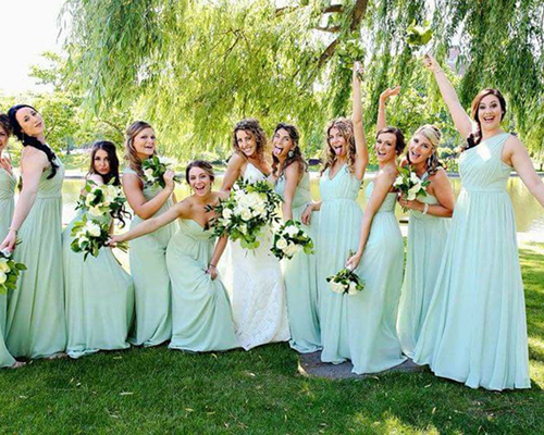 Bridesmaids | CLE Bride by Expressions | As seen on TodaysBride.com