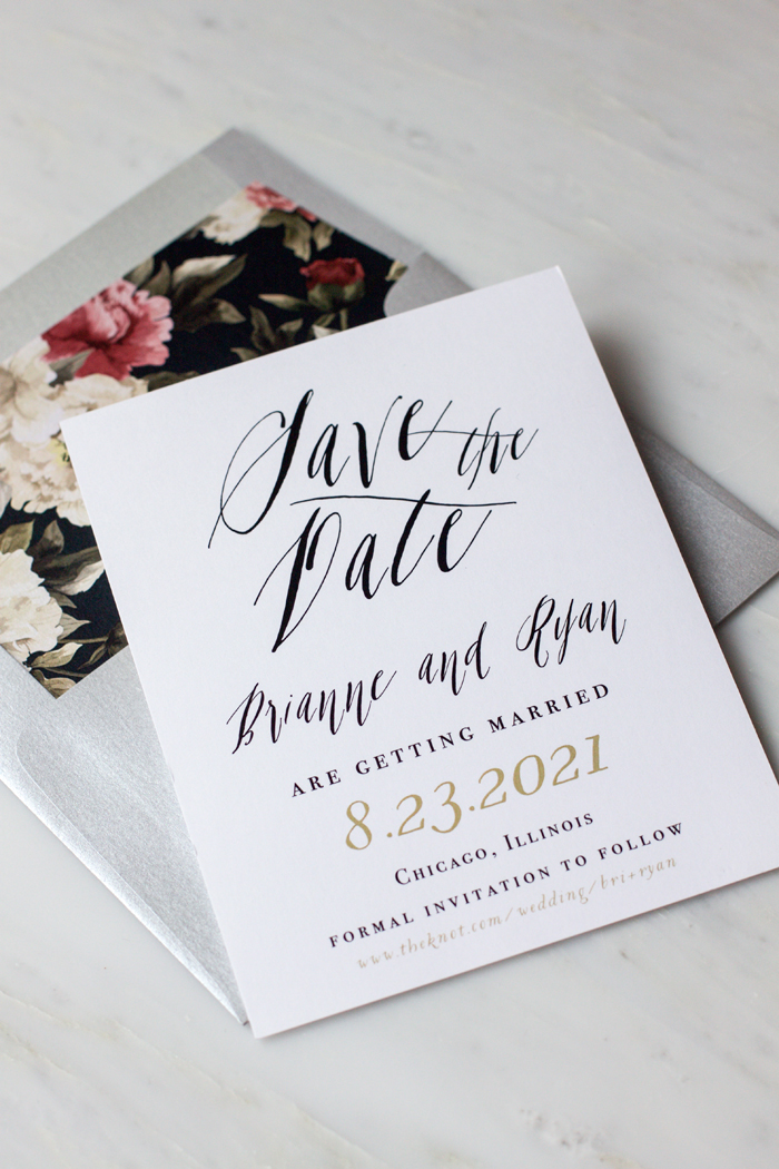 Save the Dates | Beacon Lane | As Seen on TodaysBride.com