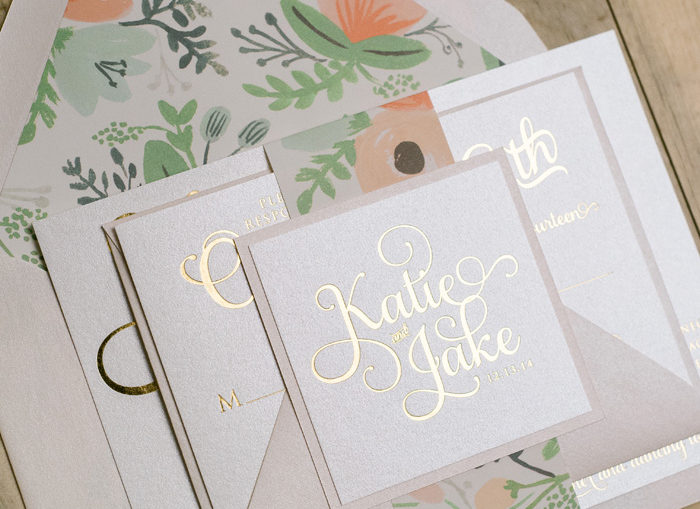 Assembling Invitation Suite | Jupiter + Juno | As Seen on TodaysBride.com