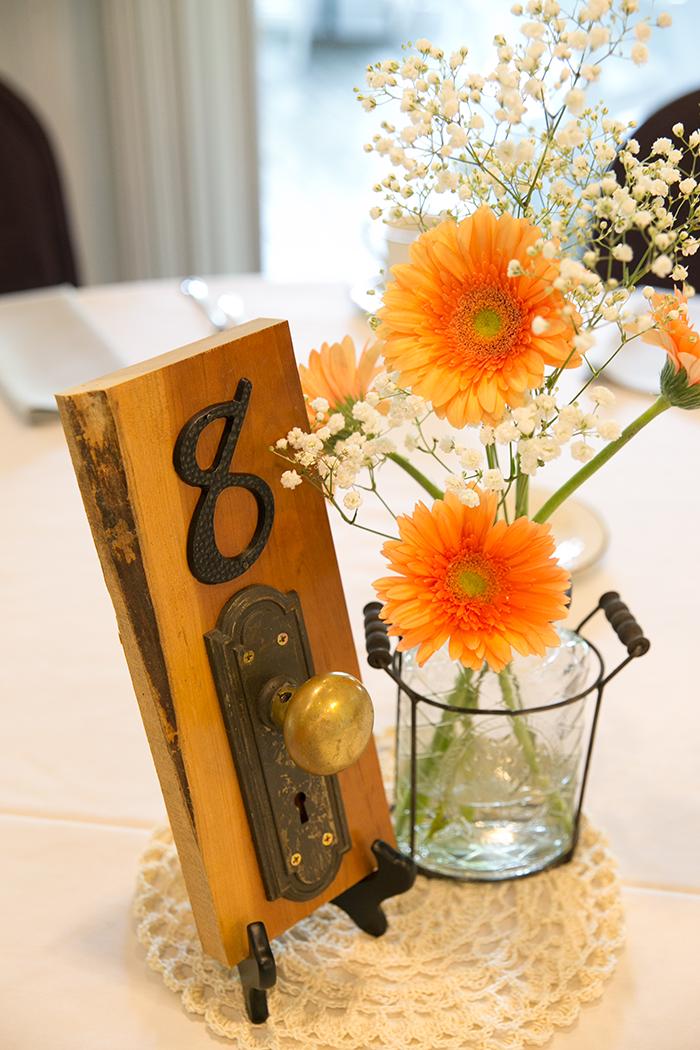 Tiffany & Christopher - Simply Vintage | Kay Photo & Design | Real Wedding as seen on TodaysBride.com | Real Ohio Wedding, vintage wedding, peach wedding ideas, mansion wedding, woodland wedding, skeleton key wedding decor