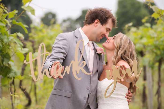 Wedding Signage | Klodt Photography | As seen on TodaysBride.com