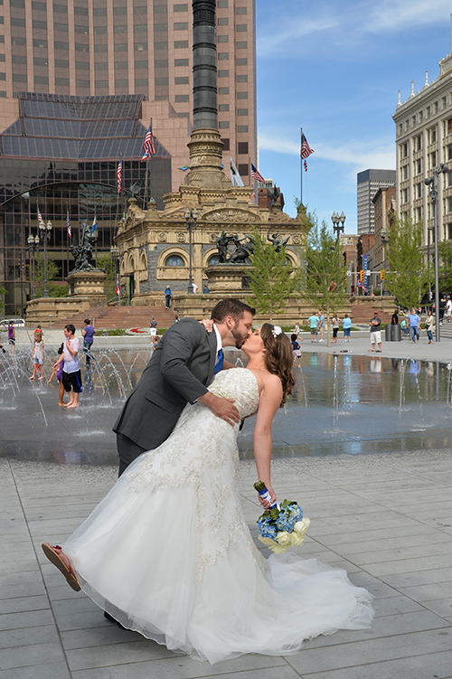 Jessica & Ernie - Classic Cleveland Wedding | AJF Photography Real Cleveland Ohio Wedding as seen on Todaysbride.com