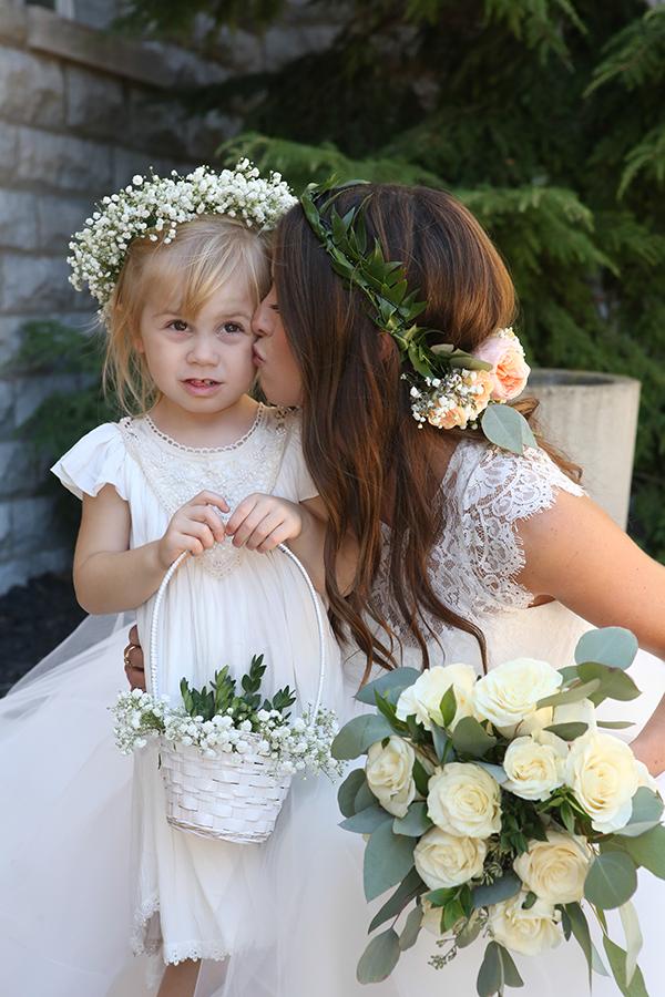 Bethany & Troy - A Super Stylish Sandusky Wedding | Malick Photo, Real Ohio Wedding as seen on TodaysBride.com, Bohemian Wedding Ideas, Rustic Wedding Ideas