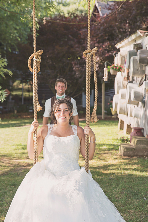 Jackie & Nicholas - Rustic Tree Farm Wedding | Oh Snap! Photography, real Ohio wedding as seen on TodaysBride.com, country ohio wedding, rustic wedding,