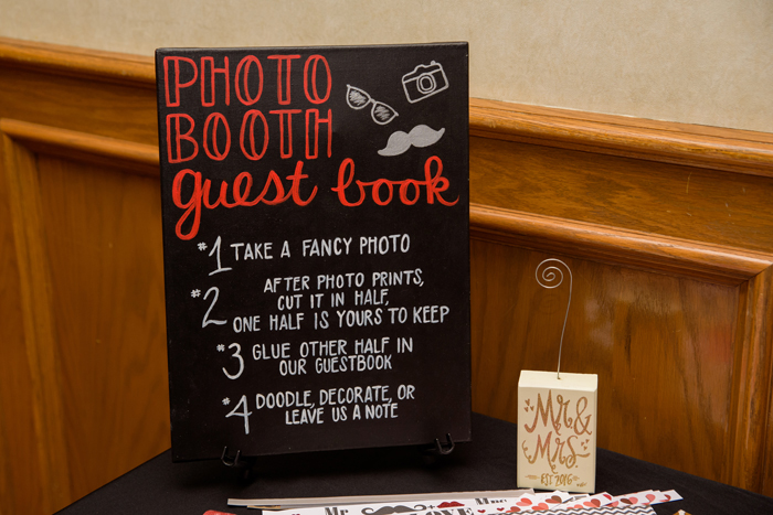 Photo Booth Guest Book   Sabrina Hall Photography   As seen on TodaysBride.com