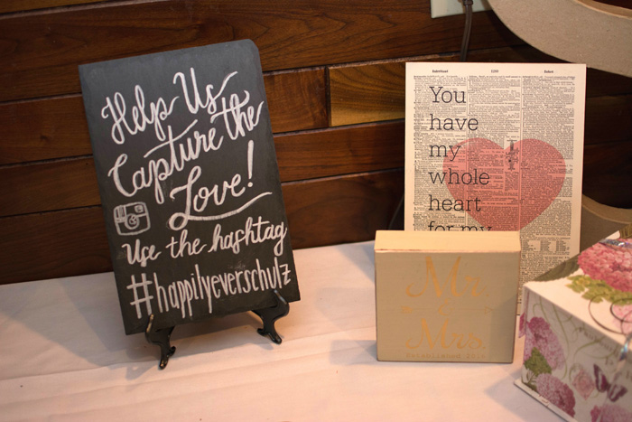 Wedding Hashtag | Love is All You Need Photography | As seen on TodaysBride.com