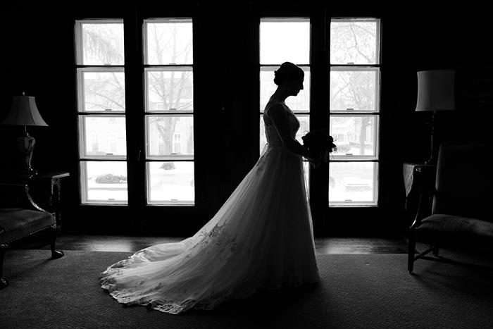 Kaylee & Vincent - Winter Wonderland Wedding   Real Ohio Wedding as seen on TodaysBride.com Photographed by Sabrina Hall Photography, Christmas wedding ideas, winter wedding ideas,