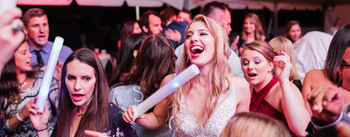 Bride Dancing and Singing   Burning River Entertainment   As seen on TodaysBride.com