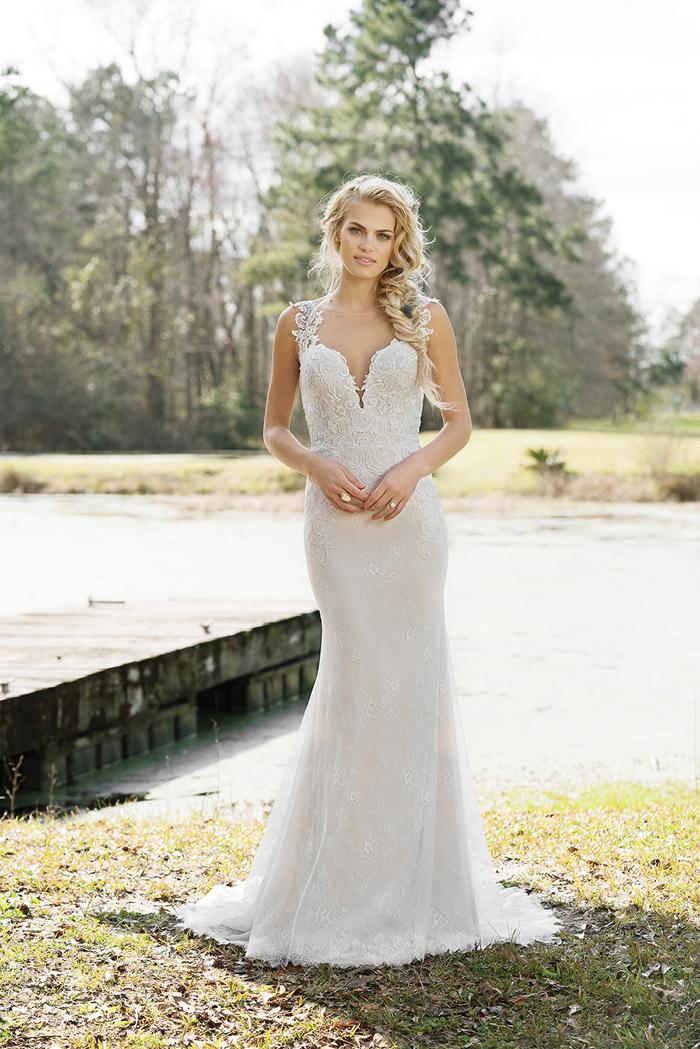 Wedding Dress | Lillian West | As seen on TodaysBride.com