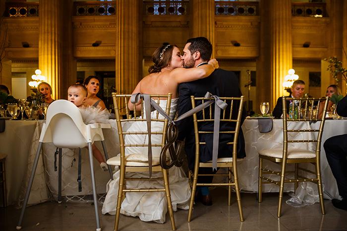 Lauren & Craig - Cleveland Skyline Wedding. Real wedding as seen on TodaysBride.com, genevieve nisly photography, city wedding ideas, cleveland wedding