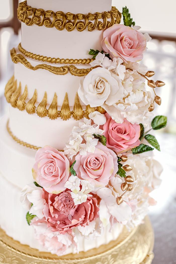 Let Them Eat Cake! Marie Antoinette Styled Wedding Shoot - french wedding theme