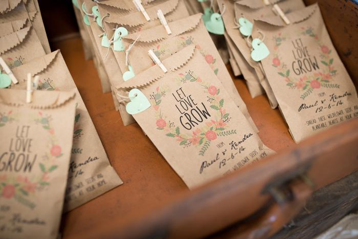 Garden Theme Wedding | Corner House Photography | As seen on TodaysBride.com