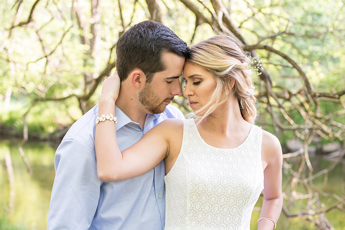 Wonderland in the Woods Styled Engagement Shoot, engagement photography by Sabrina Hall Photography on Todaysbride.com, outdoor engagement photos, engagement photo ideas, styled engagement photos,