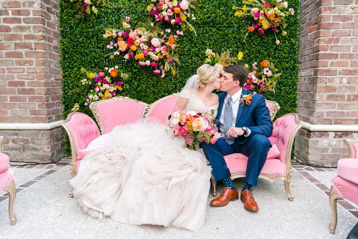 Garden Theme Wedding | Dana Cubbage Photography | As seen on TodaysBride.com