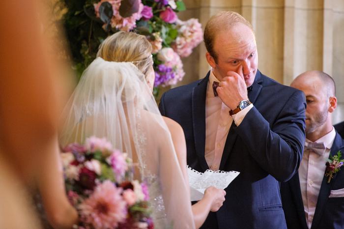Wedding Vows | Sabrina Hall Photography | As seen on TodaysBride.com