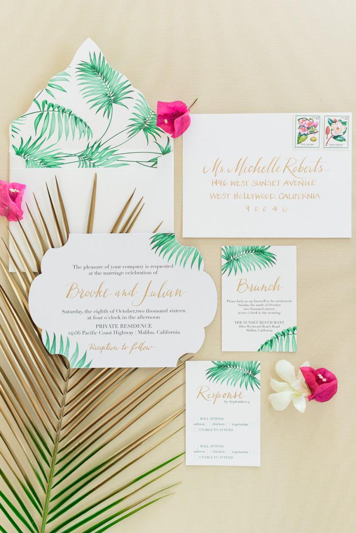 Tropical Wedding | Sanaz Photography | As seen on TodaysBride.com