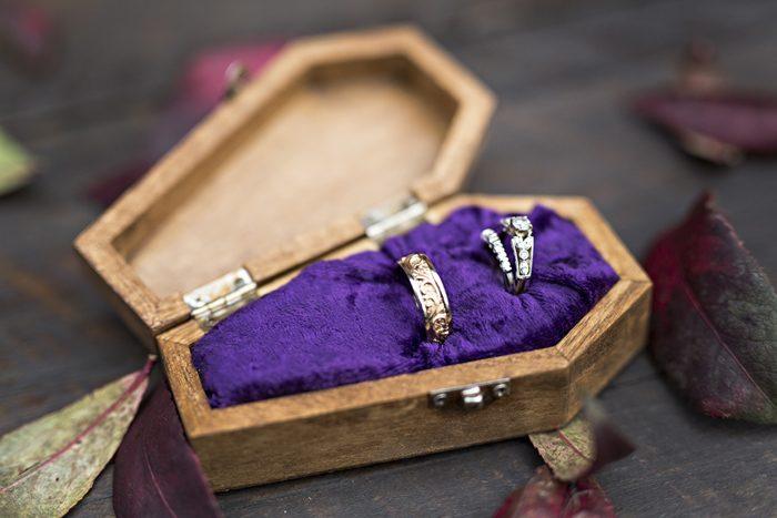Halloween Wedding | Karen Menyhart Photography | As seen on TodaysBride.com