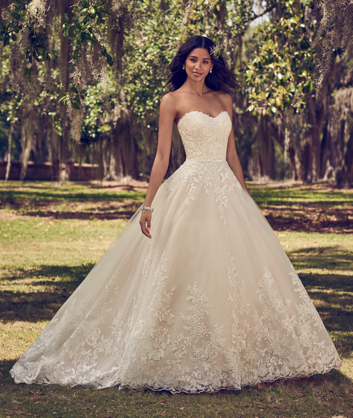 Maggie Sottero   As seen on TodaysBride.com