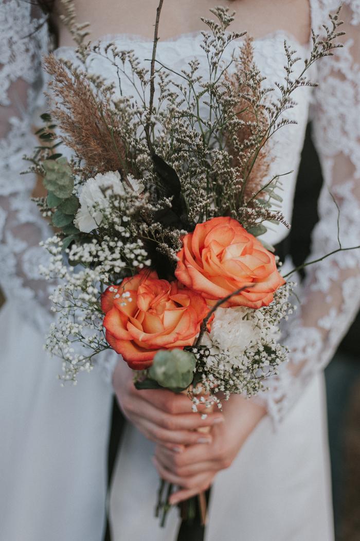 Fall Wedding Bouquet | Ella Photography | As seen on TodaysBride.com