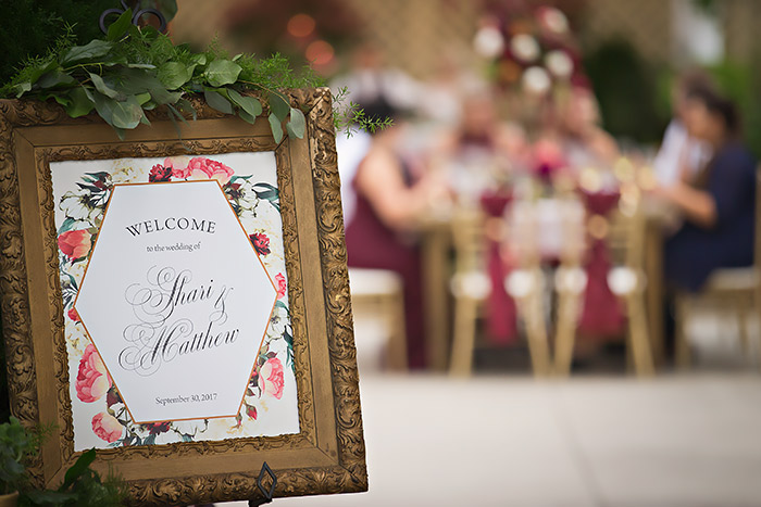 Nuevo Garden Wayne Wedding - Styled Shoot, marsala wedding, burgundy wedding, greenhouse wedding decor, modern wedding decor