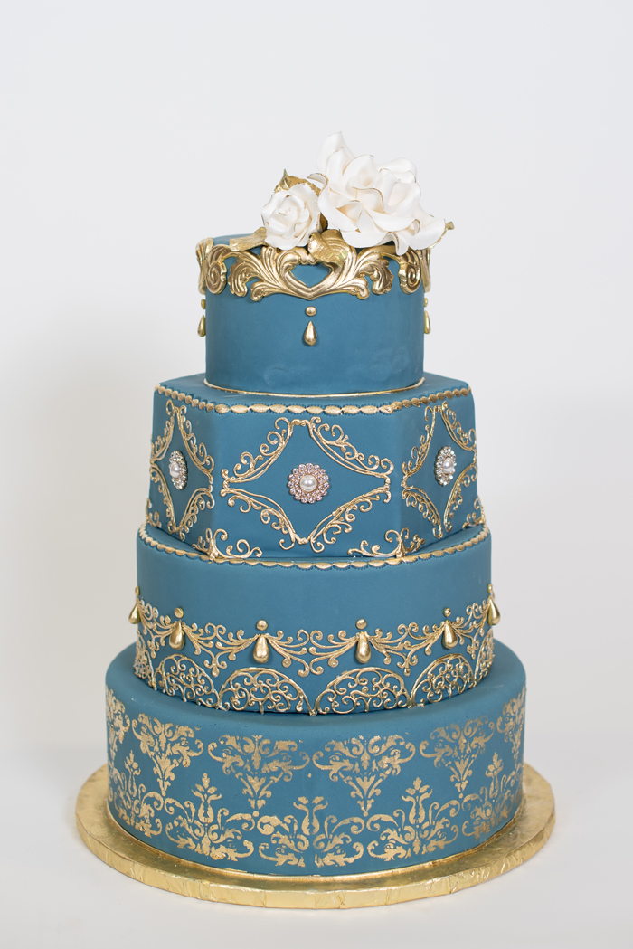 Wedding Cakes | Sabrina Hall Photography | As seen on TodaysBride.com
