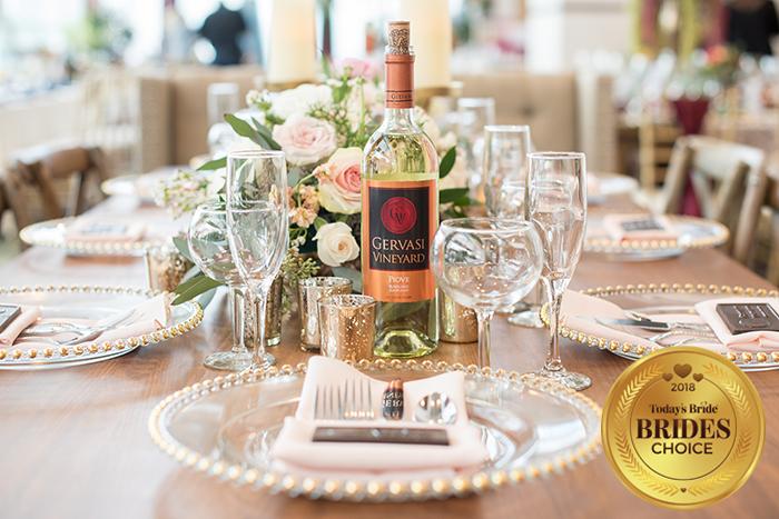 Today's Bride Wedding Show Reception Table Gallery, reception table inspiration, winery wedding inspiration, rustic wedding centerpiece idea