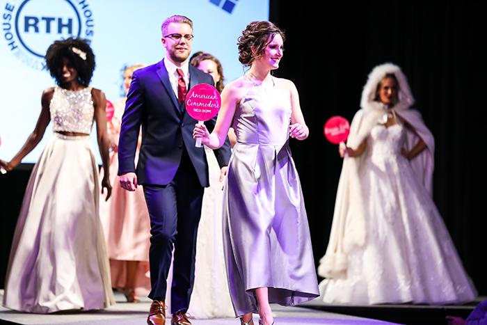 Today's Bride Wedding Show Fashion Show, Bridesmaid Dresses & Groomsmen Tuxedos
