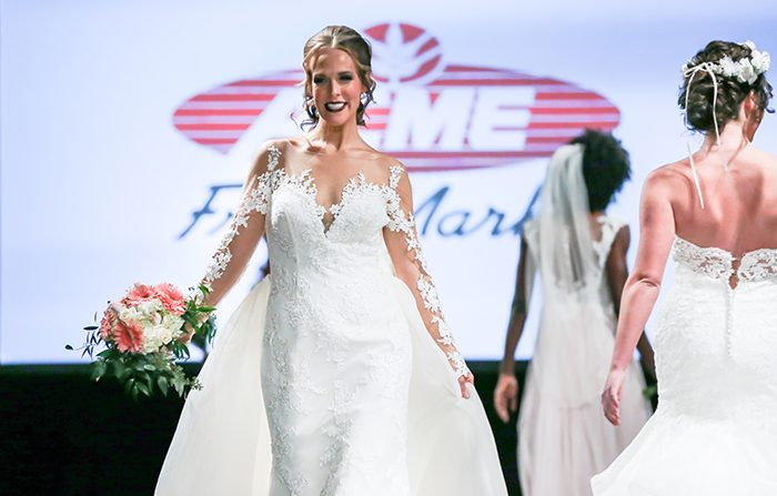 eb8b89bc355 Hundreds of brides attended our bridal show on January 14th to see the  variety of wedding dresses