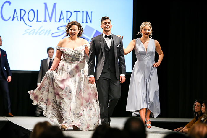 Today's Bride Wedding Show Fashion Show, Bridesmaid Dresses & Groomsmen Tuxedos