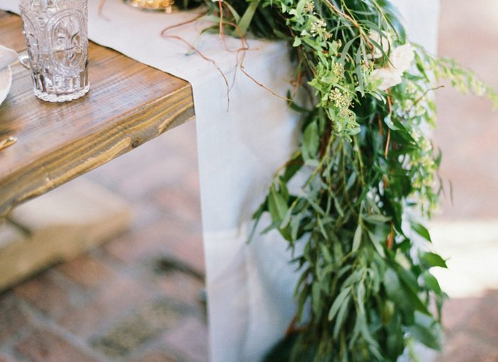 Greenery | Erich McVey Photography | As seen on TodaysBride.com