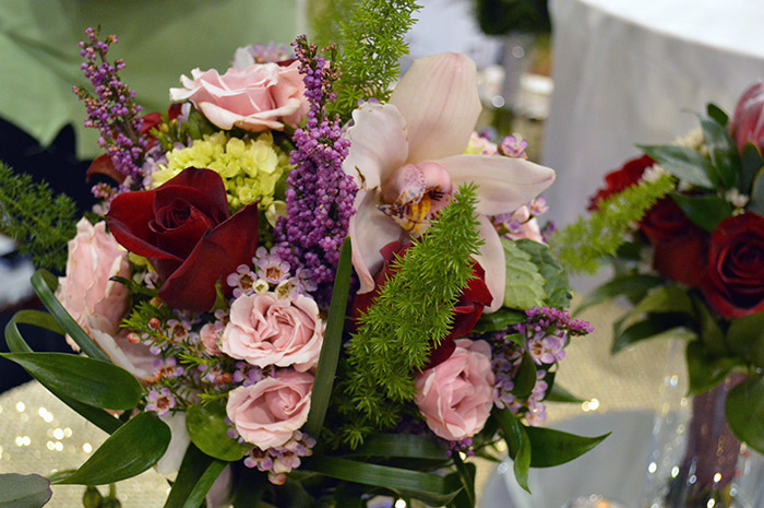Bright wedding bouquet from the Today's Bride Wedding Show