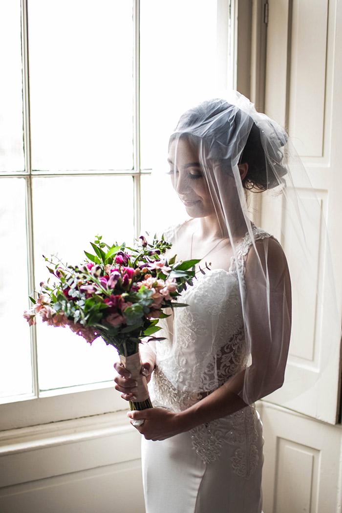Aileen & Bernard's Garden Wedding - columbus ohio real wedding inspiration as seen on TodaysBride.com. Photography by JazzyMae Photography. Garden wedding ceremony
