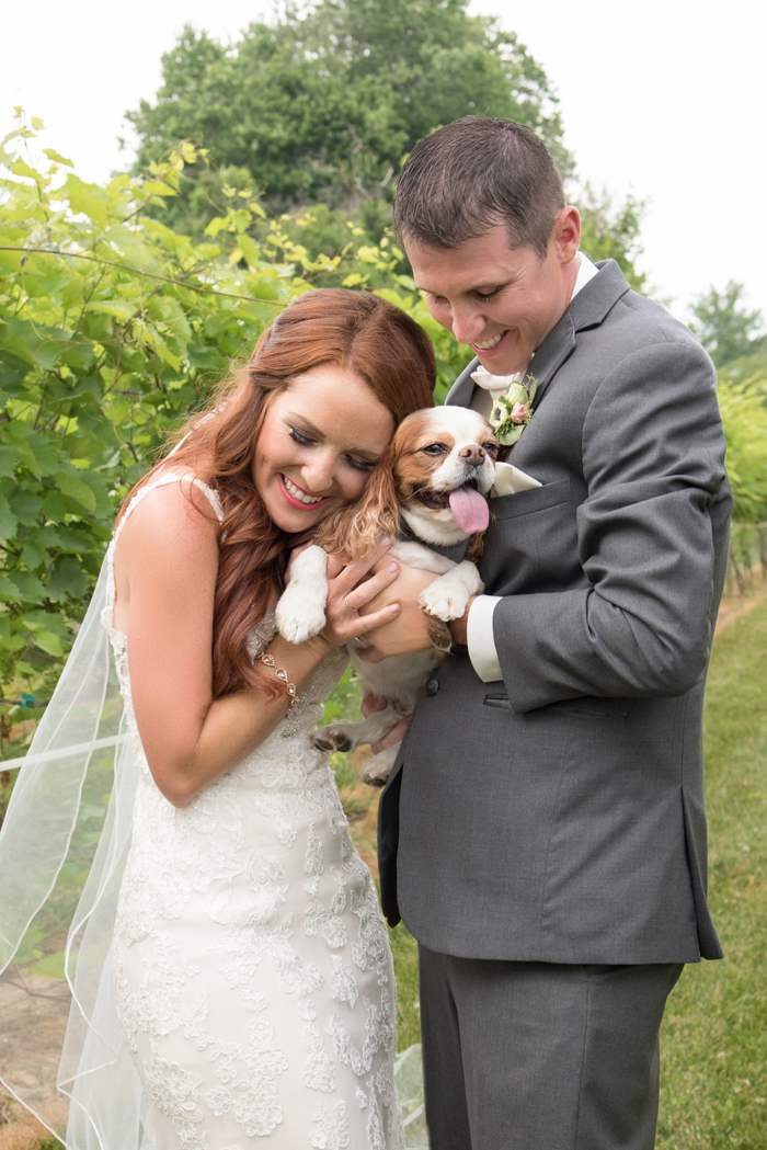 Pets in Wedding | Sabrina Hall Photography | As seen on TodaysBride.com