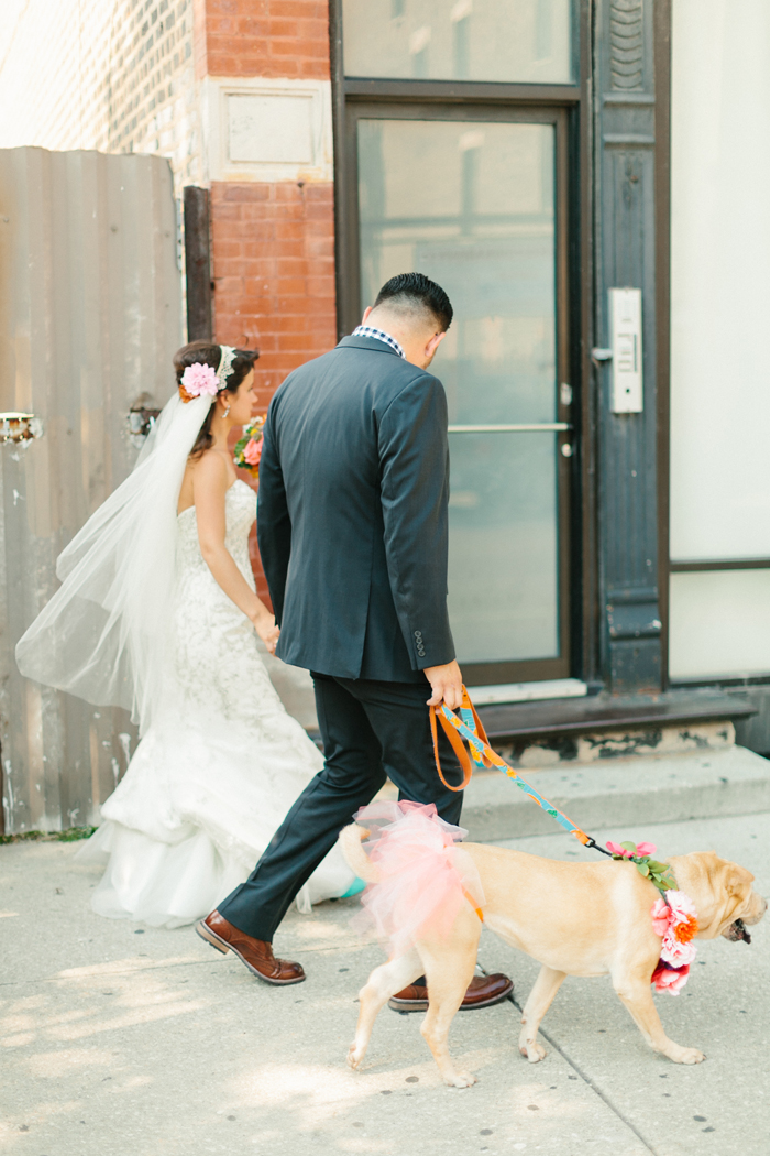 Pets in Weddings | Kate Romaneski Photography | As seen on TodaysBride.com