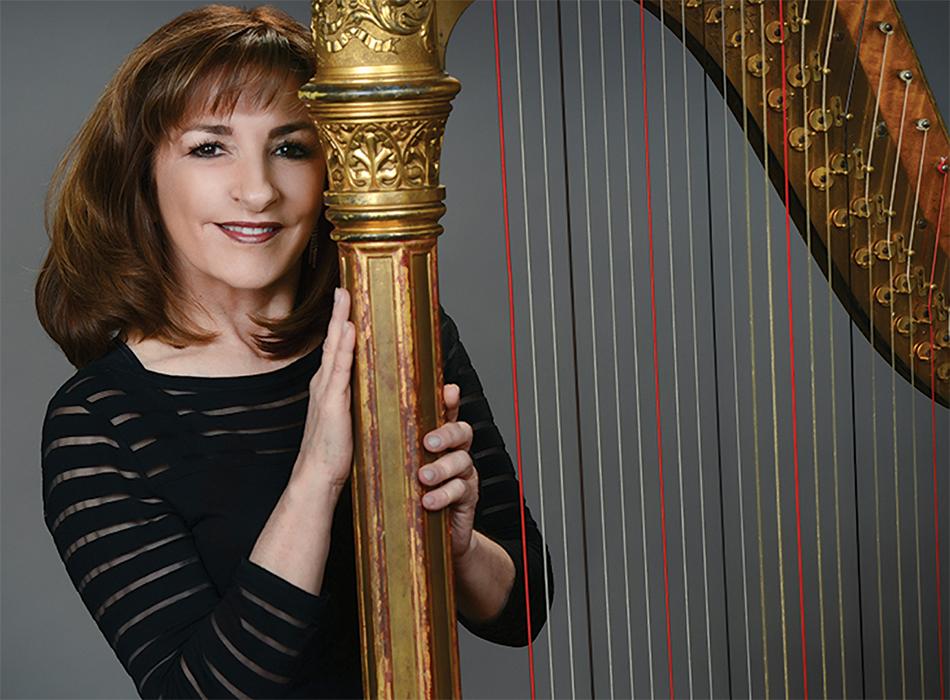 Roseann Canfora, Harpist Celestial Strings | As Seen On TodaysBride.com