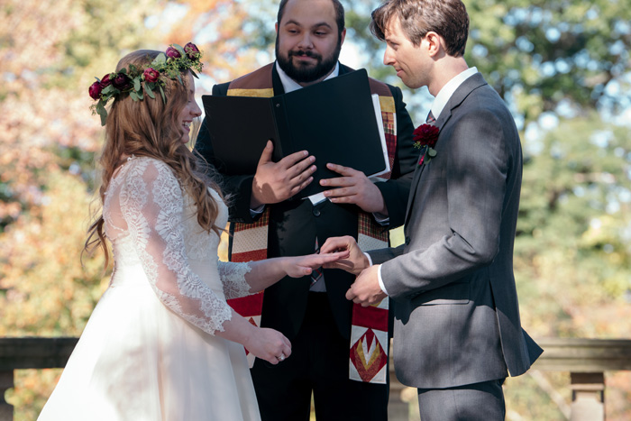 Wedding Officiant | Jadie Foto | As seen on TodaysBride.com