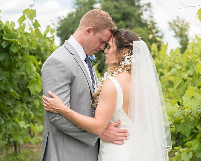 Andrea & Bryan's Sweet Vineyard Wedding, wedding inspiration, gervasi vineyard wedding, photos by sabrina hall photography