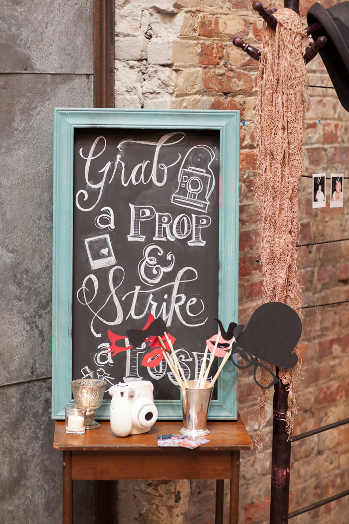 Photo Booth Props | Rima Brindamour | As seen on TodaysBride.com