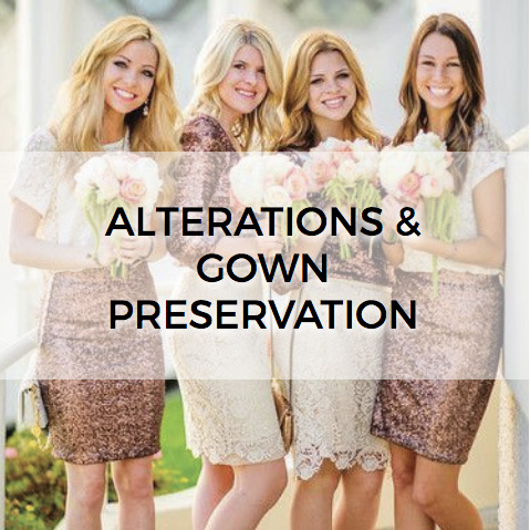 Alterations & Gown Preservation Button