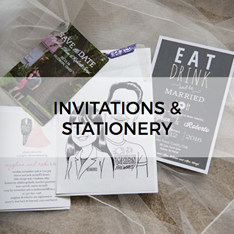 Invitations and Stationery Button