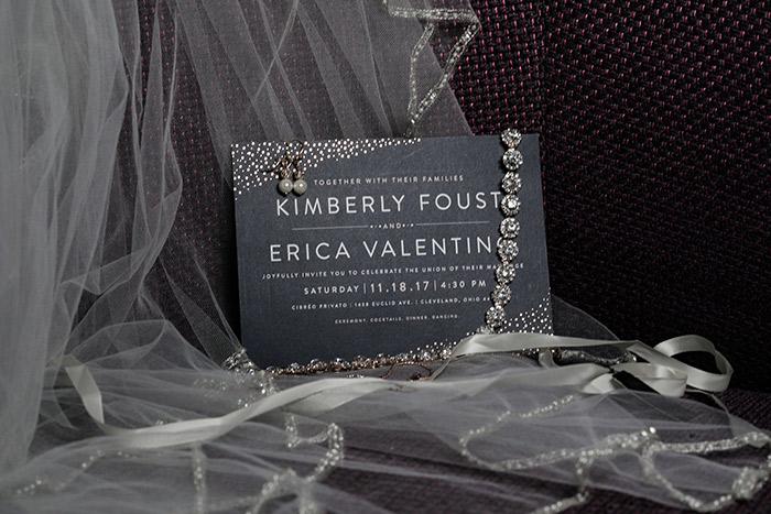 Erica & Kim's Cleveland Love Story, lgbtq wedding, wedding inspiration, gay wedding inspiration, karen menyhart photography on todaysbride.com