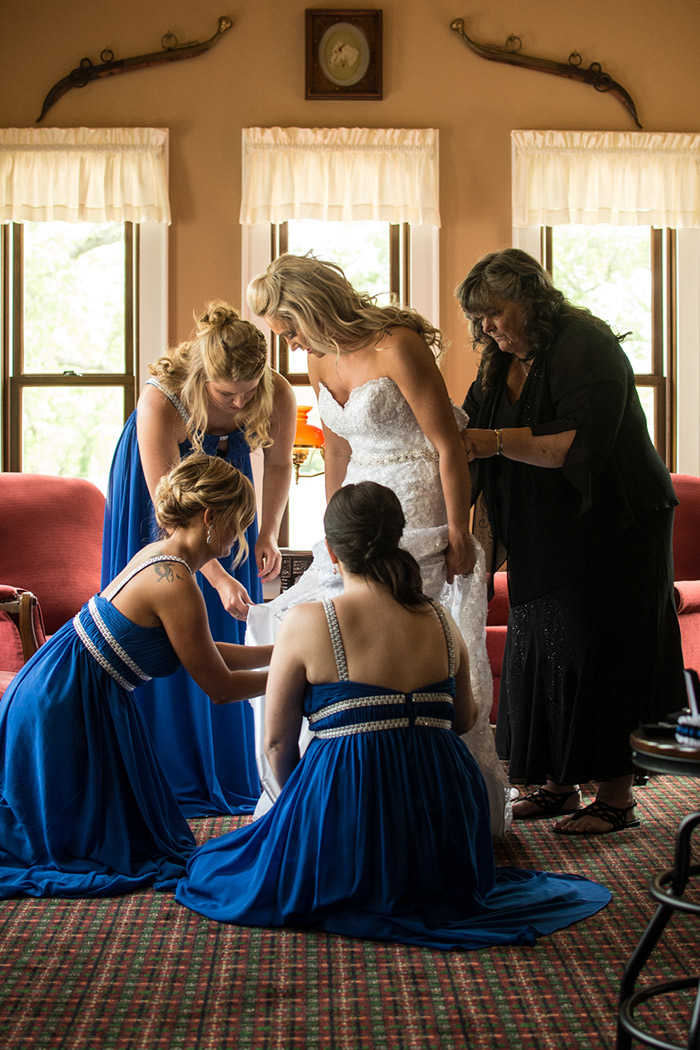 Lindsey & David's Thin Blue Line Real Wedding, police themed wedding, cleveland ohio wedding as seen on TodaysBride.com