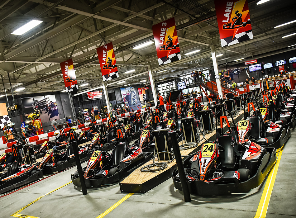 High Voltage Indoor Karting | As Seen On TodaysBride.com
