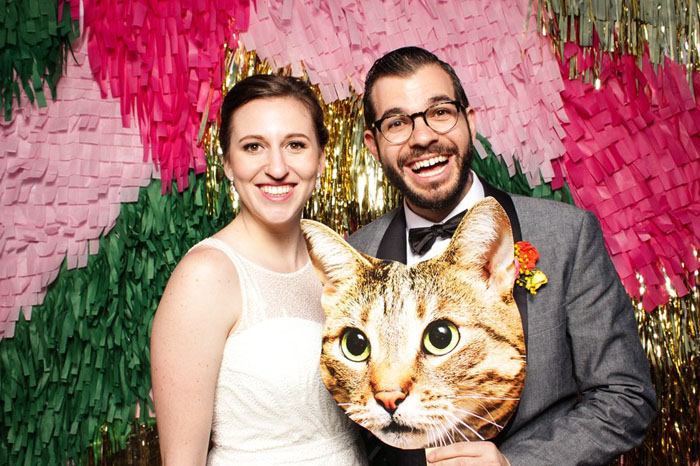 Photo Booth | Danger Booth | As seen on TodaysBride.com
