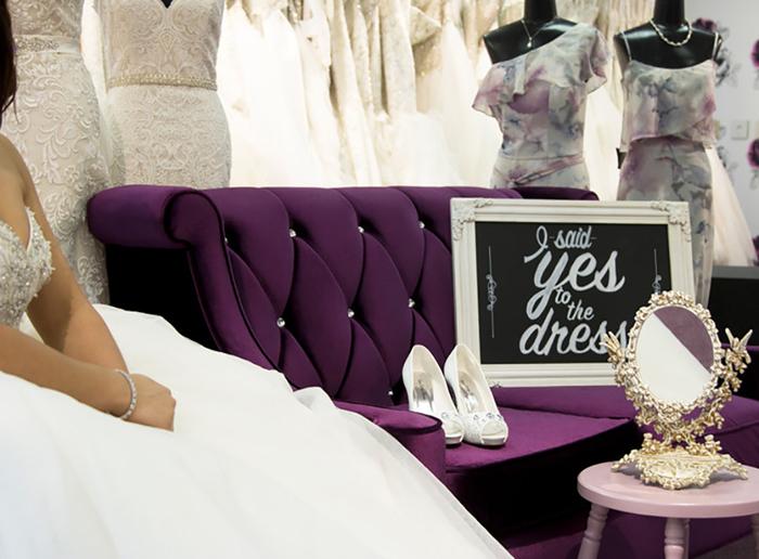 Wedding Dress Shopping | Henris Cloud Nine | As seen on TodaysBride.com