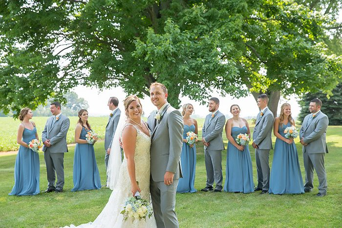 Sarah & Brian's Mid-Summer Bride's Dream Wedding