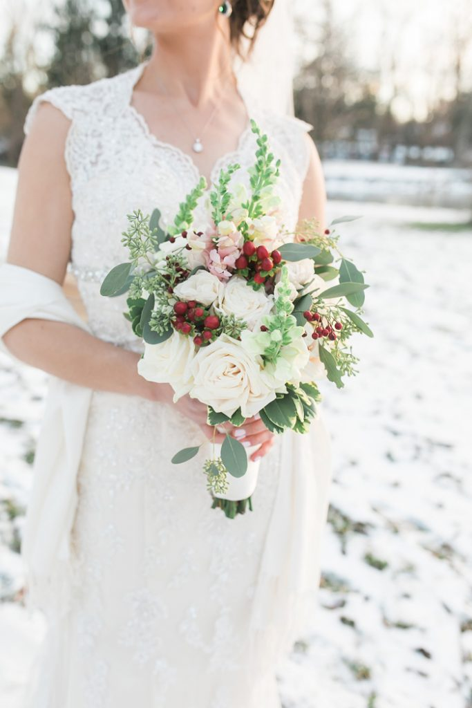 Christmas Wedding | Bridget Rochelle Photography | As seen on TodaysBride.com