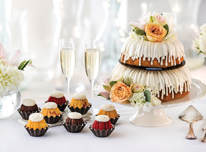 Nothing Bundt Cakes | As seen on TodaysBride.com
