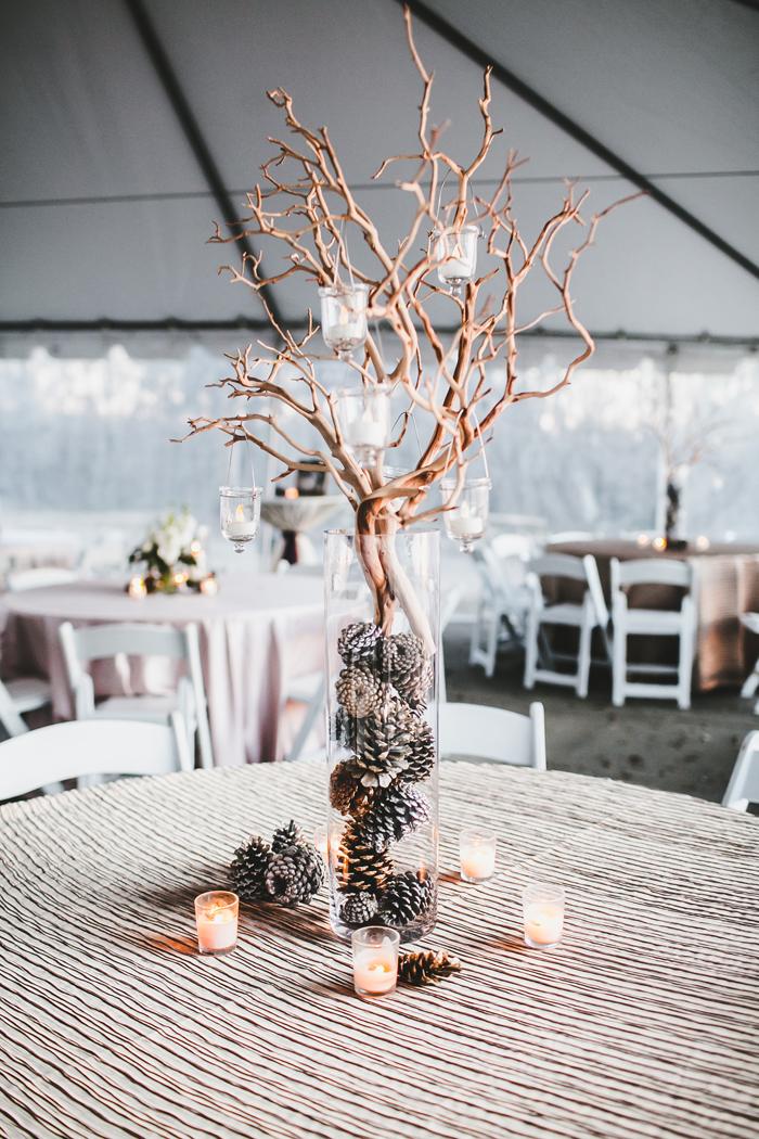 Teale Photography | As seen on TodaysBride.com | Holiday Wedding Décor