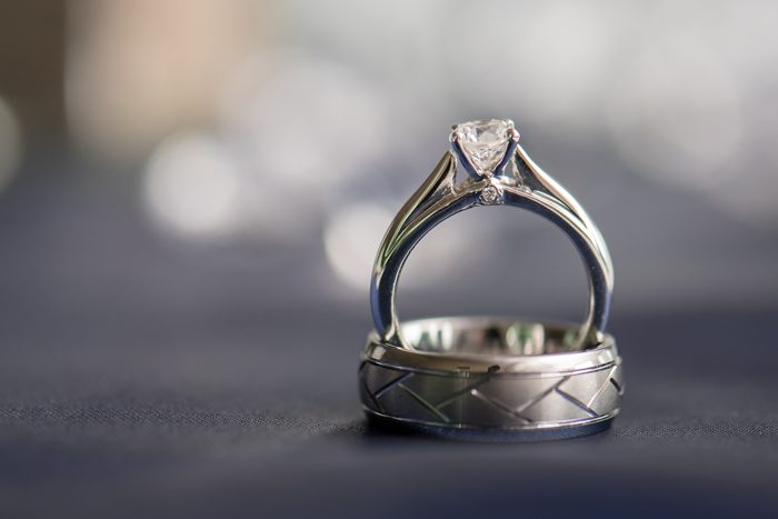 Wedding Rings | Sabrina Hall Photography | As seen on TodaysBride.com